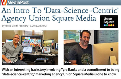 An Intro To 'Data-Science-Centric' Agency Union Square Media