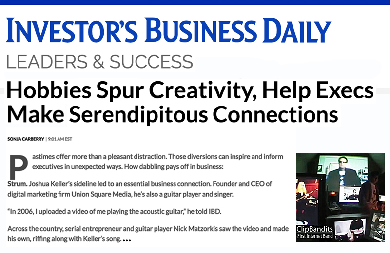 Hobbies Spur Creativity, Help Execs Make Serendipitous Connections